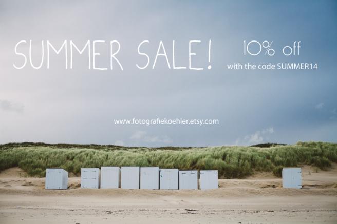 summer sale on Etsy - fotografiekoehler shop