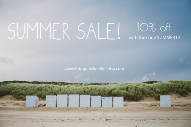 summer sale on Etsy - fotografiekoehler shop