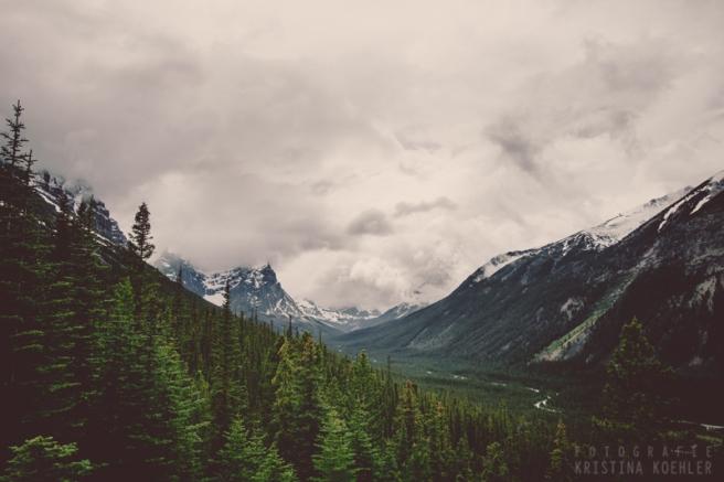 Rocky Mountains. Fotografie Kristina Koehler